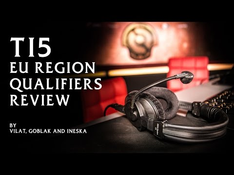 TI5. EU Qualifiers Review by V1lat. Goblak and Ineska