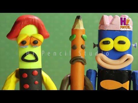 [Xin chào bút chì] - Tập phim: Robot xanh | dieu chung minh chua biet