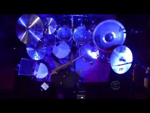 Tony Royster Jr. - Caravan (drum solo) (Live on Letterman 08-22-2011) [HD 1080p]