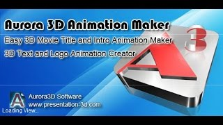 How to download and install Aurora 3D Animation maker full version with crack #new