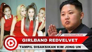 Girlband Red Velvet Gugup Saat Tampil Ditonton Kim Jong Un