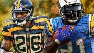 LE'VEON BELL OR LADAINIAN TOMLINSON  ESPN NFL 2K5 GAMEPLAY