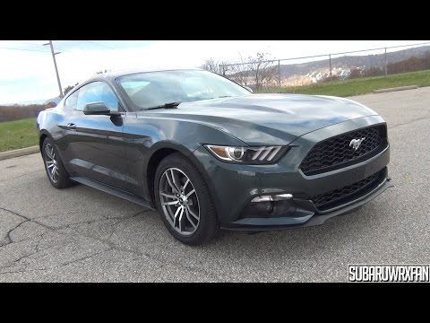 2015 Ford Mustang EcoBoost Premium In-Depth Tour