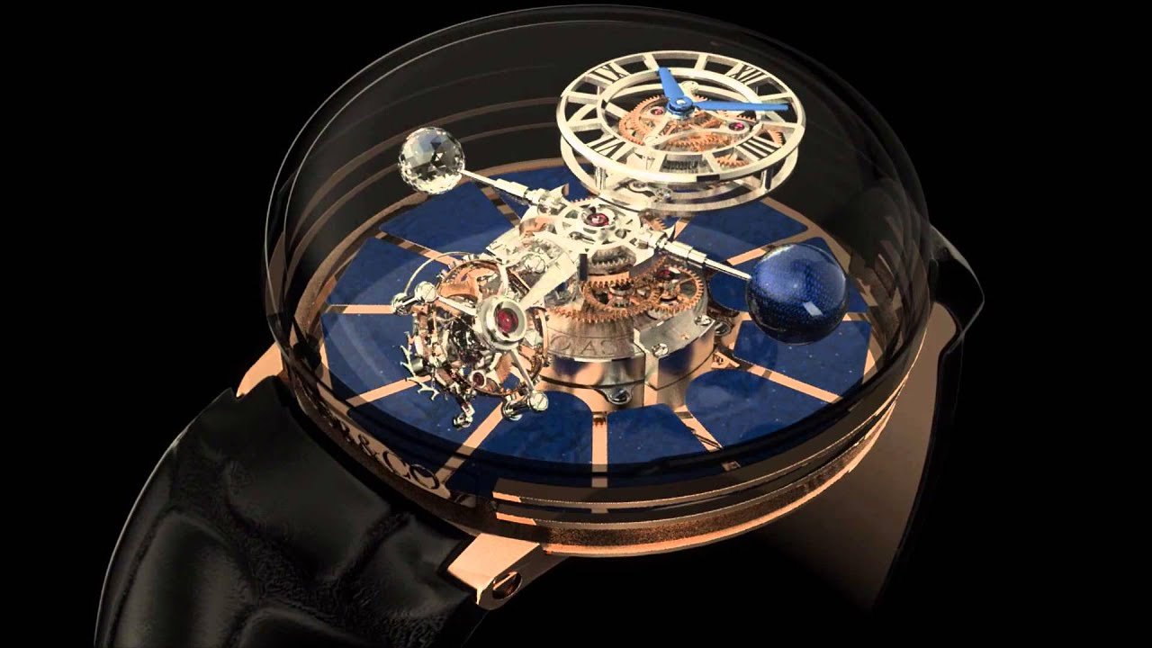 Jacob co astronomia tourbillon watch ablogtowatch youtube for Jacob co watches