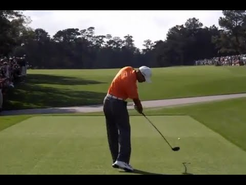 Tiger Woods, Rory McIlroy, Dustin Johnson & more ... 2013 Masters Golf Practice Rounds