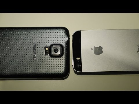 Samsung Galaxy S5 vs iPhone 5S - Quick Look!