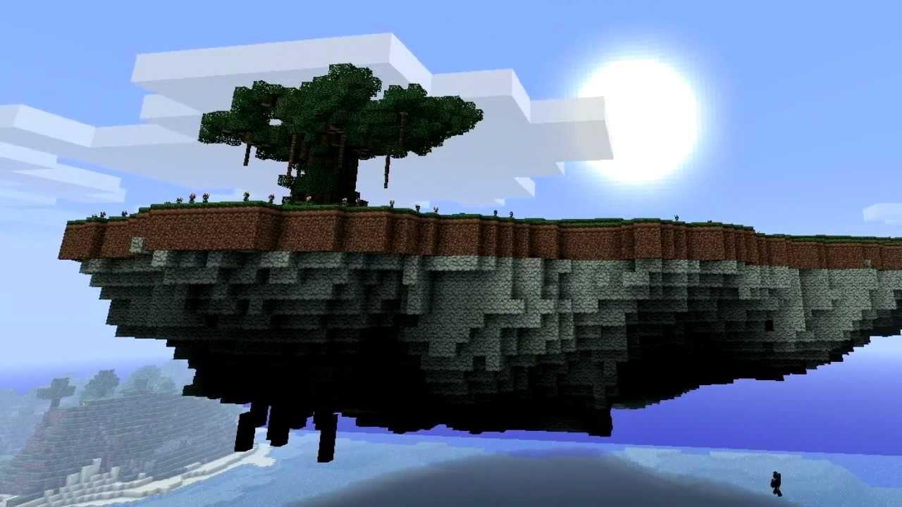 Minecraft Best Floating Island Seed Pe