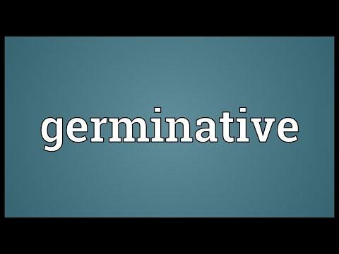 Header of germinative