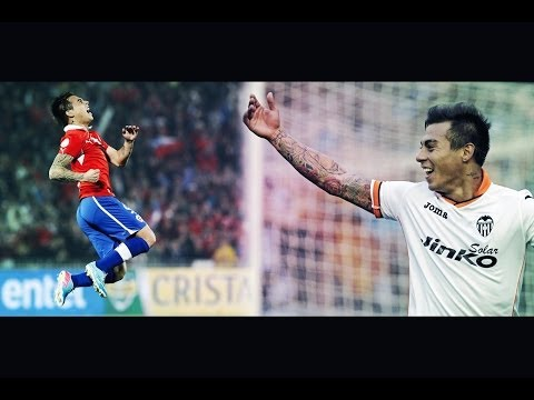 Eduardo Vargas - Chile & Valencia CF highlights [HD 720P]