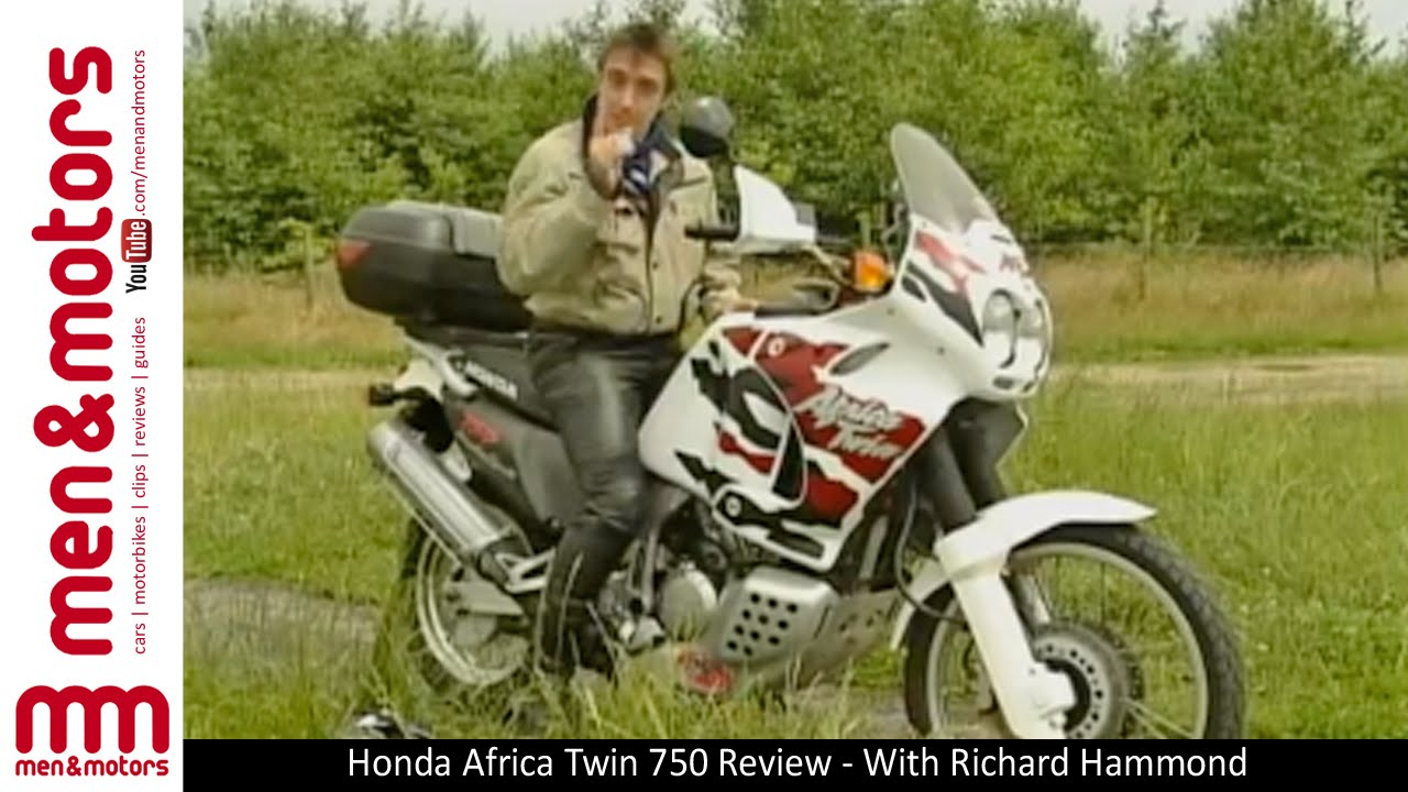 honda africa twin 750 review with richard hammond youtube. Black Bedroom Furniture Sets. Home Design Ideas