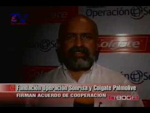 Fundación Operación Sonrisa y Colgate firman acuerdo