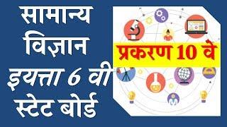 सामान्य विज्ञान - general science - इयत्ता 6 वी - std 6 - स्टेट बोर्ड - science lectures in marathi