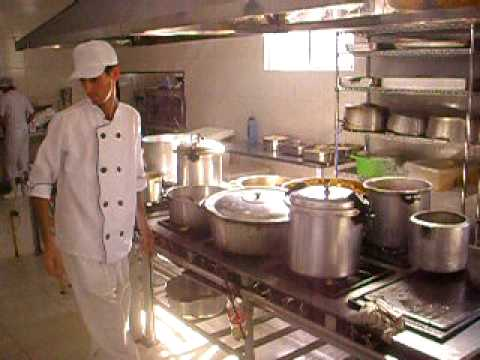Cozinha de restaurante