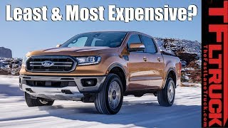 Breaking News: 2019 Ford Ranger - How Much is the Most & Least Expensive Version?