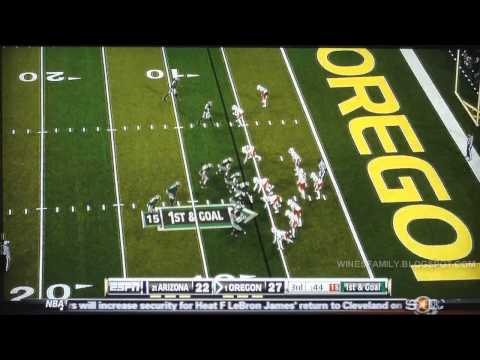 Darron Thomas Career Highlights - 2008 through 2012 Rose Bowl