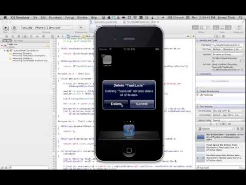iPhone Programming - Introduction to Core Data
