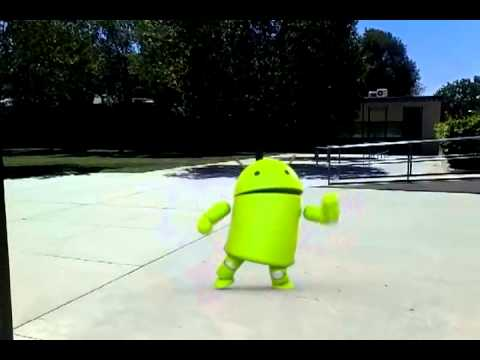 dancing droid dances at Rubidoux High School