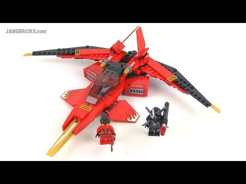 LEGO Ninjago 2014 Kai Fighter 70721 full Review!