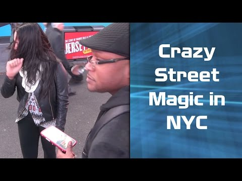 Crazy Street Magic in NYC!!!