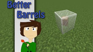 Minecraft - Better Barrels with only one command | Vanilla Minecraft