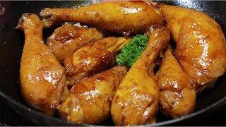 Gà Rô Ti tạo hương vị riêng đậm đà cho món cơm gà