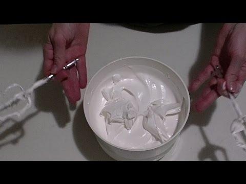 Крем из сливок для торта без загустителя.