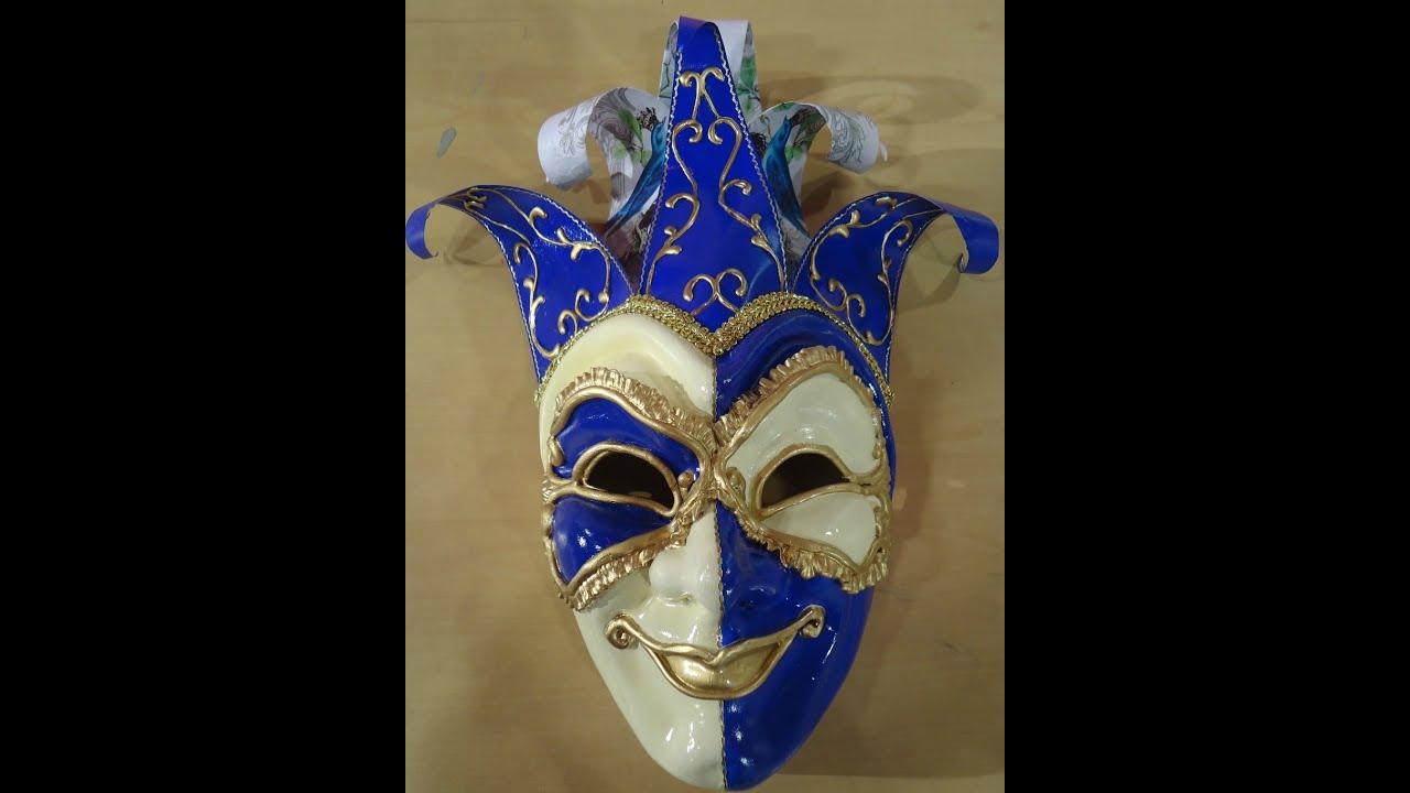 M scaras venecianas youtube - Mascaras venecianas decoracion ...
