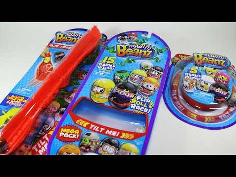 Mighty Beanz Packs and Flip Track