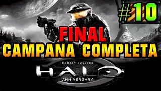 Halo Combat Evolved Anniversary: Campaña Completa | Misión 10 | HD 60 FPS FINAL