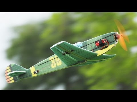 Tech One RC 4 Ch BF 109 EPP Plane