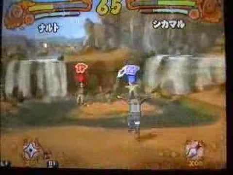 Narutimate Accel: Naruto tai Shikamaru (Both TS)