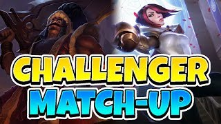 HOW TO BEAT FIORA! Challenger Elo Tryndamere Full Game Commentary - League of Legends