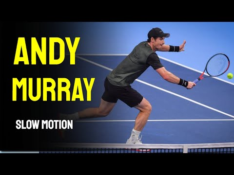 Andy Murray Slow Motion Compilation