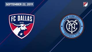 HIGHLIGHTS: FC Dallas 1, New York City FC 1 | 9.22.19