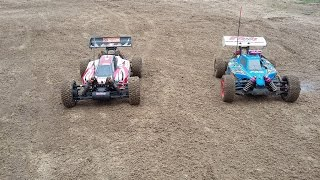 RC cars OFF-ROAD Hpi Trophy Buggy Flux & Thunder Tiger EB4 S 2,5