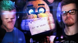 TAKING APART THE ANIMATRONICS.. | Fredbear and Friends: Left To Rot #1