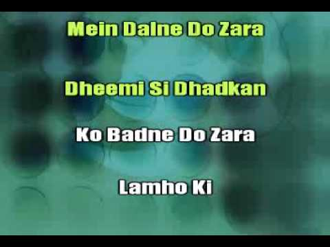 Sanson Ko Sanson Me-karaoke Video Hindi Song.wmv video