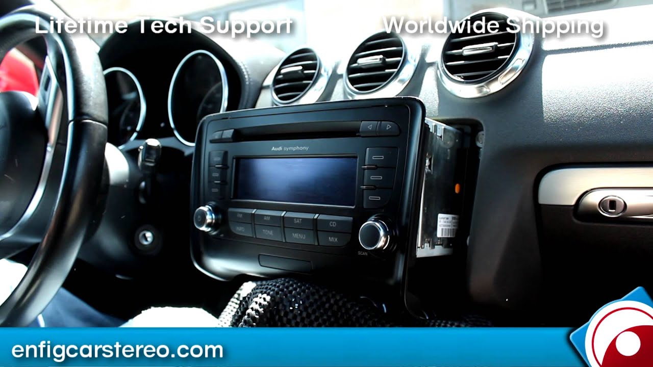 How To Audi Tt 2007 2011 Aux Iphone Ipod Audio Adapter