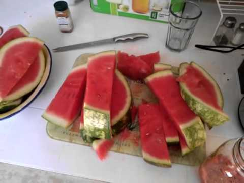 Healing & Detoxing with Watermelon Juice part 1