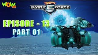 Motu Patlu presents Hot Wheels Battle Force 5 - The  Chosen One - Episode 13-P1 - in Hindi