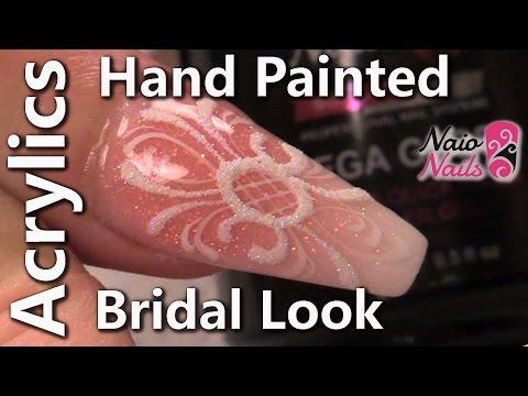 Bridal Free Hand Art and Sugaring