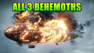 Behemoth Guide - How To Wreck Everyone! | Battlefield 1 Dreadnought Airship & Train