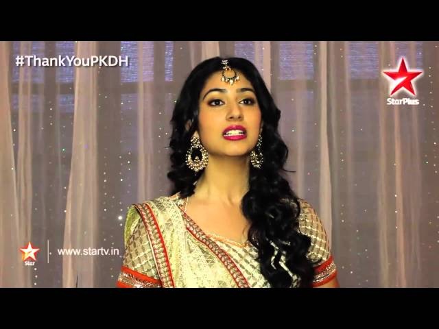 Pyar Ka Dard Hai - Pankhuri's message for her fans