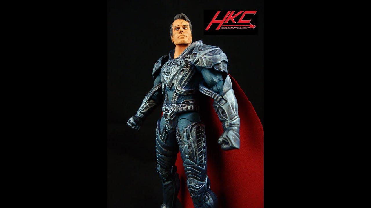 Custom KRYPTONIAN ARMOR SUPERMAN movie masters man of ...