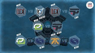 Fnatic VS Evil Geniuses (BO2) - DOTA SUMMIT 9 Groupstage Day 3