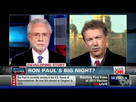 Rand Paul exposes Rick Santorum's liberal tendencies CNN 1/4/12