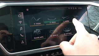 How To: Connect Iphone to 2019 Audi MMI Bluetooth (A6,A7,A8,Q8)