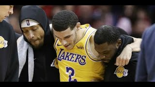 Los Lakers pierden a Lonzo Ball, pero ya se preparan para recibir de vuelta a LeBron James