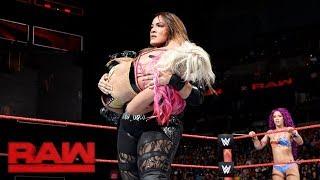 Sasha Banks & Alexa Bliss vs. Nia Jax & Emma: Raw, Sept. 4, 2017