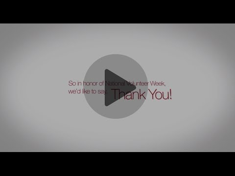 AHA National Volunteer Week Video - Thank you!